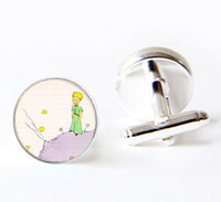 Wholesale The Little Prince cuff links The Little Prince cufflinks The Little Prince cufflinks for men women