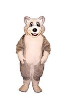 baby huskies - Cute Friendly Baby Husky Adult Mascot Costume High Quality Cartoon Husky Dog Theme Anime Cosply Costumes Carnival Fancy Dress
