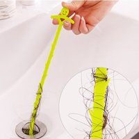 bathroom outlet - Bathroom Hair Sewer Filter Drain Cleaners Outlet Kitchen Sink Drian Filter Strainer Anti Clogging Floor Wig Removal Clog Tools