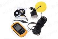 Wholesale Portable Sonar LCD Fishing Finder Alarm M AP Waterproof
