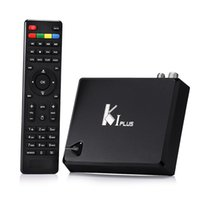 8GB android media streamer - K1 T2 S2 Plus Amlogic S905 Quad Core Smart TV Streamer Box Android K HD Media Player DVB S2 T2 Combo TV Receiver Ccamd Newcamd