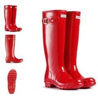 best quality rain boots - Best Selling Women Rain Boots Top Quality Rainboots Wellies Boots Women High Boots Waterproof H brand Boots Rubber outdoor water shoes