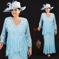 ann summers - Ann Balon Mother Of The Bride Dresses Full Lace V Neck Mother s Wedding Gowns Plus Size Formal Wear Mothers Groom Dress