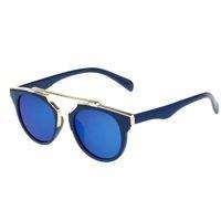 baby boy case - Fashion Round Kids Sunglasses With CASE Children Sun Glasses Anti uv Baby Vintage Eyeglasses Outdoor Cool infantil de sol UV400