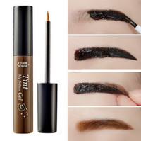 Wholesale HOT sale Etude House Eyebrow Enhancers Tint Colours My Brow Gel Etude House Brow Peel Off Tint Free DHL