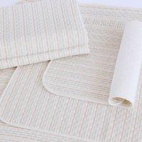 Wholesale Colored Cotton Large Urine Pad Waterproof Breathable Washable Urine Pad Children