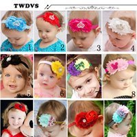 bandage ace - TWDVS Solid Girl Ace Bandages Baby Headwear Faccessories New Goodsr Hair Accessories Pearl Headdress Hair Baby Headband w67