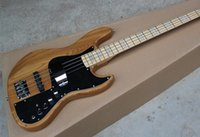 bass guitars for sale - Hot Sale Marcus Miller Signature String Jazz Bass Electric Guitar Maple Fingerboard Nature Wood Color V Active Amplifier Circuit