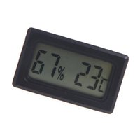 Wholesale Mini Digital LCD Thermometer Hygrometer Humidity Temperature Meter Indoor