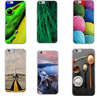 apple hill - Phone Case Cover For iPhone s plus Ultra Soft TPU Transparent Leaf Animals Scenery Patterns Hills Design Mobile Phone Bag
