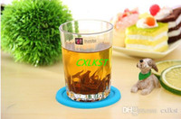 beverage cup brand - Silicone Coffee Placemat Button Coaster Cup Mug Glass Beverage Holder Pad Mat Brand New