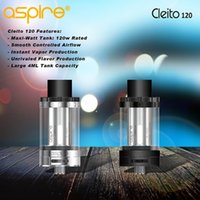 aspire black - 100 Authentic Aspire Cleito Tank Available in Black and Silver Cleito Support W VS Aspire Cleito SMOK TFV8