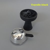 Wholesale pc vortex Silicone Bowl And pc Charcoal Holder As Suit For Glass Shisha Hookahs