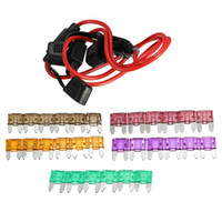 Wholesale Lowest Price PC mm Waterproof Fuse Holders Gauge ATC Fuse Holder In line AWG Wire mm Car Blade Fuses