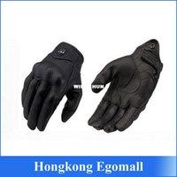 Wholesale Moto Racing Gloves Leather motorcycle gloves cycling gloves Perforated Leather Motorcycle Gloves black color M L XL size