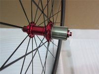 Wholesale 700C mm depth cheap full carbon bike tubeless clincher road wheelset super quality wider wheels for cycling freeshipping now