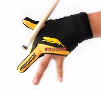 pool and snooker cue - Cue Billiard Pool Shooters Fingers Gloves RED and YELLOW billiard gloves snooker predator gloves high quality billiard accessories