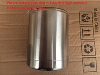 Wholesale 10 oz NO logo Rambler oz Lowball Stainless Steel Tumbler Cup Insulation Cup Bilayer Stainless Steel Tumbler Mug