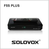 Wholesale 1PC Genuine SOLOVOX F5S Satellite Receiver DVB S2 Support USB Youpron CCCAM MGCAM