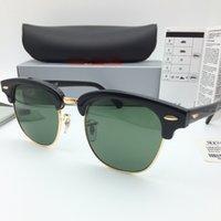 al por mayor lentes de sol hombres de las mujeres-Gafas de sol de las gafas de sol de la bisagra del metal de la alta calidad de las gafas de sol del diseñador de la marca de fábrica Gafas de sol de las mujeres UV400 51m m de los vidrios de