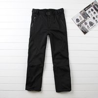 Wholesale Crivit outdoor trousers male men thickening plus velvet trousers outdoor plus size plus size skiing pants