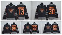 america team - 2016 World Cup Team North America Hockey Jerseys Matthews McDavid Eichel Gaudreau Murray Gostisbehere Larkin Scheifele