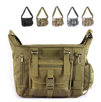 Wholesale Men Outdoors Military Tactical Style Camouflage Army Green Bag Hiking Travelling Sport Army canvas Duffel Bag