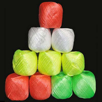Cheap Free Shipping 10 Rolls pack Colored Plastic Rope Packaging Rope for Gift Boxes Free Shipping Cake Cookie Raffia Ribbon