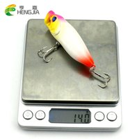 big mouth bass - HENGJIA Topwater Floating Popper Fishing Lure g cm Big Mouth Artificial Bait with Rattles Lifelike Bass Bait