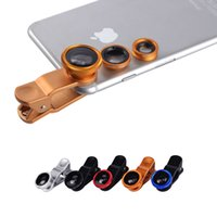 Cheap 3 In 1 Mobile Phone Macro Fish Eye Lens Best Universal Wide Camera Lenses