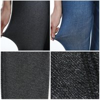 Wholesale Sexy stretch bleached pencil jeans high waisted full length women trousers denim pants jegging plus size jeans trousers women