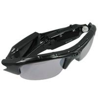 al por mayor vigilancia de vídeo de la cámara hd dvr-Dispositivo de sol DVR HD Spy Spy Gafas especiales con la cámara ocultada con la cámara 16GB HD Gafas espía videocámara grabadora de vídeo vigilancia