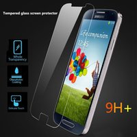Wholesale For LG STYLO PLUS LS775 PLUS K10 Tempered Glass Screen Protector Film For Samsung Galaxy ON5 G550 For Iphone s plus In Papper Package