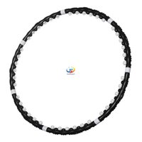 Wholesale 100cm Fitness Gym Training Removable Magnetic Hula Hoop Lose Weight Hoop Hula hoop For Body Building