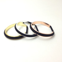 Wholesale High quality Women Cuff Bangle Hair ties bracelet Hair bands holder women gift