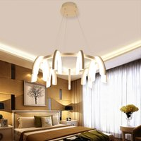 acrylic stair - led pendant lights W W W artist pendant lamp fixture for stair hall living room postmodern led pendant light metal Acrylic CE ROHS