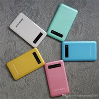 bank abs - 4000mAh Lithium Battery Power Banks for Cell Phone High Quality ABS Multi color Powerbank for Mobile Phone A201