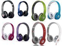 monster beats solo - Drop Shipping High Quality Refurbished Beats MONSTER SOLO Wired HD with ControlTalk Color on ear Headphones dj headset Free DHL