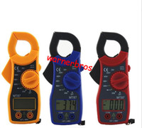 ampere meter - 1pcs lcd Digital Clamp Meter multimeter Voltmeter AC DC Voltage Current Tester Volt Ampere Ohm Meter Electric Ammeter Ohmmeter Diode