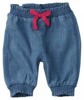 Wholesale Baby Trousers Spring Winter Childrens Clothing Baby Girl Sweet Style Denim Jeans Casual Bowknot Trousers Leisure Feet Jeans