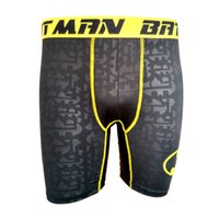 Wholesale New Mens Middle Waist Sports Shorts Fashion Boxer Briefs With high Stretchy S XXL