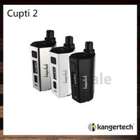 Cheap Kanger CUPTI 2 Starter Kit 5.0ml Leak Resistant Cup Design All In One Device 80W TC Mod Aio Kit Firmware Upgradeable 100% Original