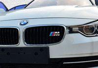 Wholesale Metal D M Power Emblem Badge Car Styling Car front grille Side Logo For BMW E46 E39 E90 E36 E60 E34 E30