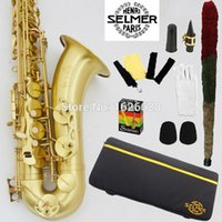 Wholesale Promotions New France Selmer Tenor Saxophone R54 Professional Bb Sax mouthpiece With Case and Accessories
