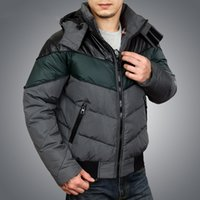 Wholesale Fall hot sales men s winter white duck down jackets thick warm hooded jacket and coats for men parka male casual outwear jf0088