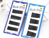 Wholesale 60pcs Hair Accessories Black Bobby Pin Ball Tip Clip Headdress Fine Hairpin Small Hair Pin Edge Clip Bob Pins cm