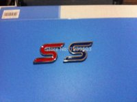 Cheap Freeshipping Hot Auto repacking car abs Badge Emblem Decal fit for Red ST S Racing Sports