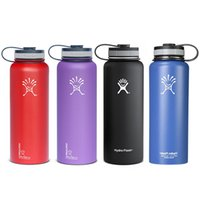 Wholesale 2016 original Hydro Flask Vacuum water bottle oz oz Insulated Stainless Steel Water Bottle Wide Mouth big capacity
