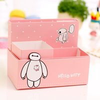 1 caja de papel de las PC DIY Caja de almacenaje Caja de cosméticos Caja organizador Acabado