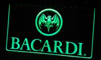 banner switches - LS306 g Bacardi Banner Flag Neon Light Sign jpg